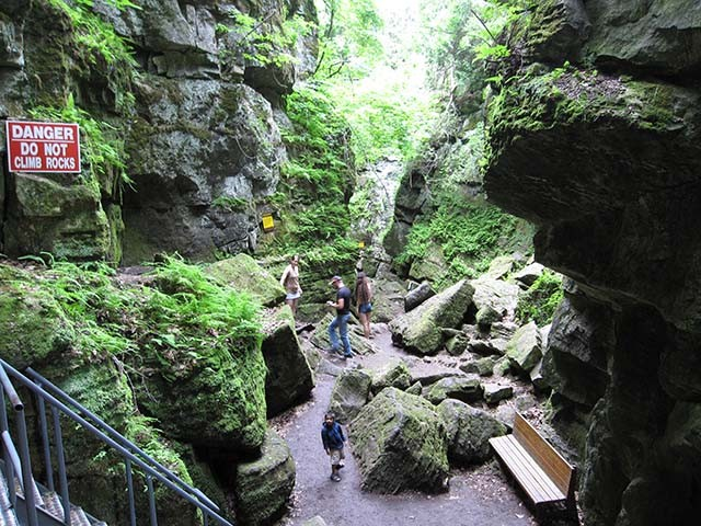 Nature Walk In Use With Caves