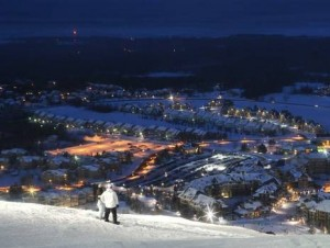 Night Skiing/Snowboarding at Blue Mountain