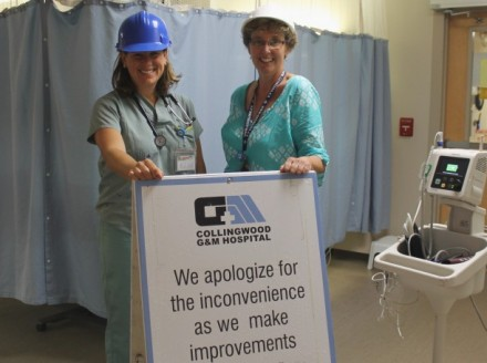 Emergency Department renovations get underway at CGMH