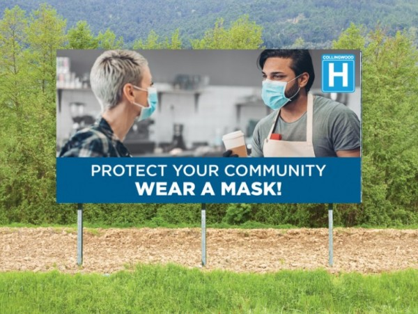 CGMH Promotes Universal Masking for South Georgian Bay