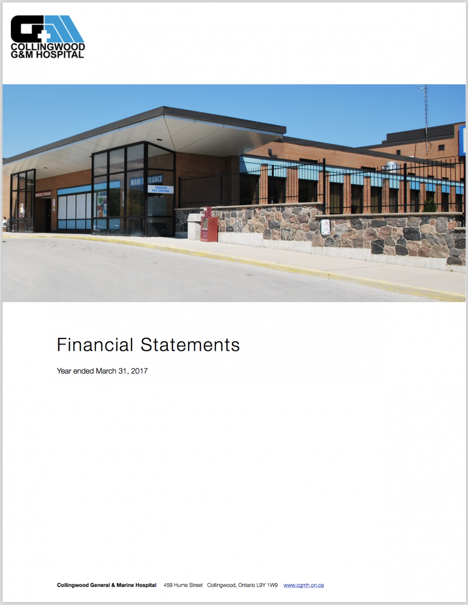 2017/18 Audited Financial Statements