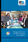 cover of hospital's annual report